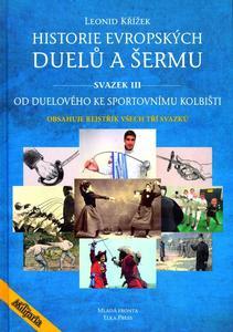 Obrázok Historie evropských duelů a šermu svazek III