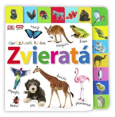 Obrázok Zvieratá Obrázková kniha