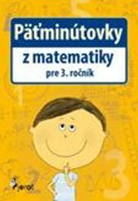 Obrázok Päťminútovky z matematiky pre 3. ročník