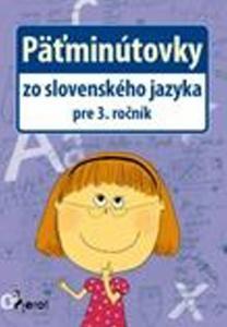 Obrázok Päťminútovky zo slovenského jazyka pre 3. ročník