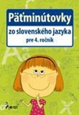 Obrázok Päťminútovky zo slovenského jazyka pre 4. ročník