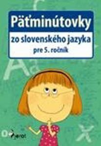 Obrázok Päťminútovky zo slovenského jazyka pre 5. ročník