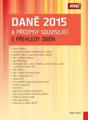 Obrázok Daně 2015 a předpisy související