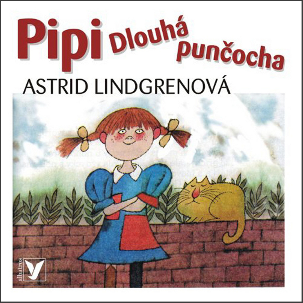CD Pipi dlouhá punčocha - Astrid Lindgrenová