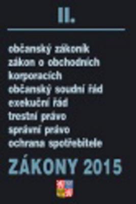 Obrázok Zákony 2015 II.