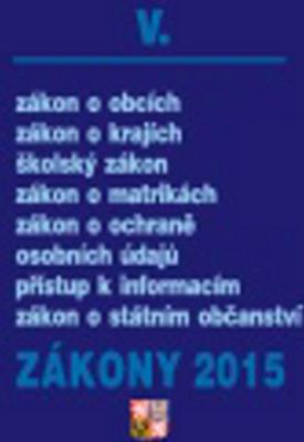 Obrázok Zákony 2015 V.