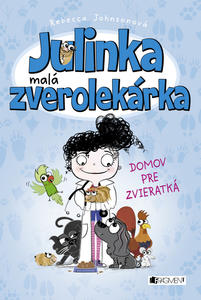 Obrázok Julinka malá zverolekárka Domov pre zvieratká