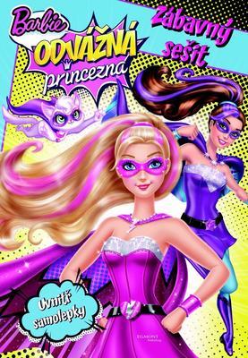Obrázok Barbie Odvážná princezna Zábavný sešit