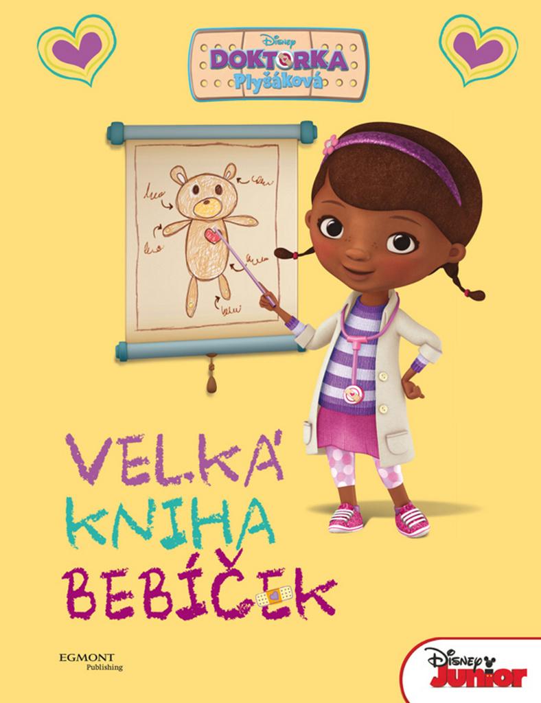 Doktorka Plyšáková Velká kniha bebíček