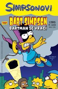 Obrázok Bart Simpson Batman se vrací