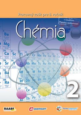 Obrázok Chémia Pracovný zošit pre 8. ročník 2