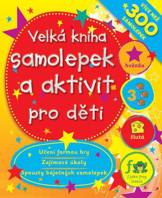 Obrázok Velká kniha samolepek a aktivit pro děti