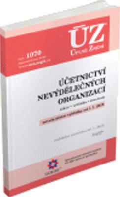 Obrázok ÚZ 1070 Účetnictví nevýdělečných organizací 2015
