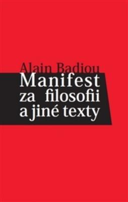 Obrázok Manifest za filosofii a jiné texty