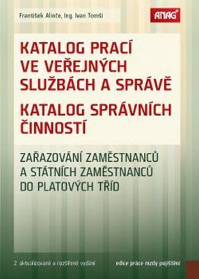Obrázok Katalog prací ve veřejných službách a správě