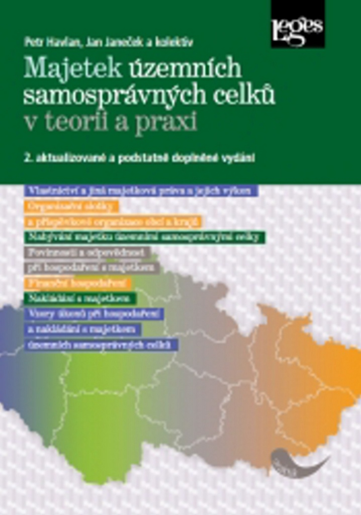 Majetek územních samosprávných celků v teorii a praxi - Jan Janeček, Petr Havlan