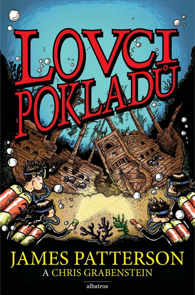 Lovci pokladů - Chris Grabenstein, James Patterson