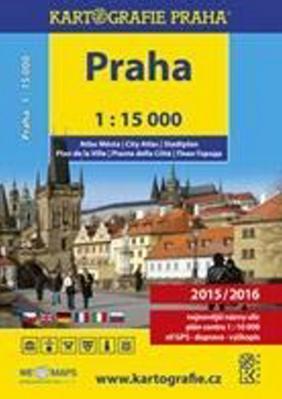 Obrázok Atlas Prahy v měřítku 1:15 000