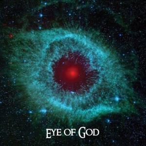 Obrázok Boží oko pohlednice čtverec