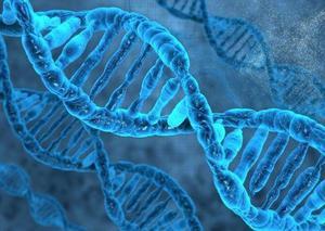 Obrázok DNA 3D pohlednice