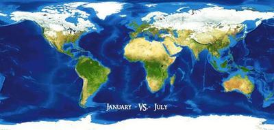 Obrázok Leden vs. červenec