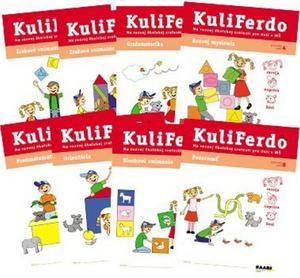 Obrázok KuliFerdo 1,2,3,4,5,6,7,8 Na rozvoj školskej zrelosti pre deti v MŠ