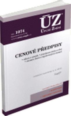 Obrázok ÚZ 1074 Cenové předpisy