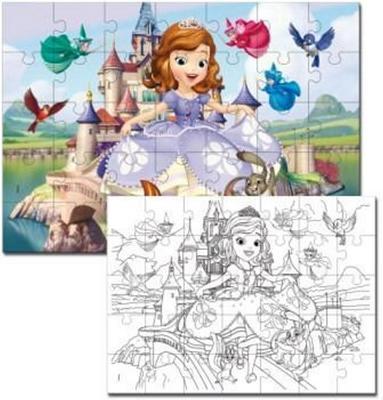 Obrázok Sofia the first puzzle 108 dílků