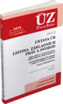 Obrázok ÚZ 1075 Ústava ČR, Listina základních práv a svobod