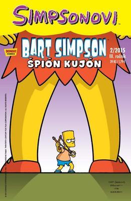 Obrázok Bart Simpson Špión kujón