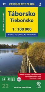 Obrázok Táborsko Třeboňsko 1:100 000