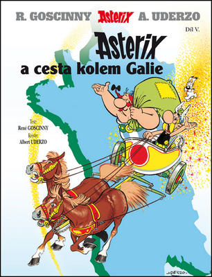 Obrázok Asterix a cesta kolem Galie