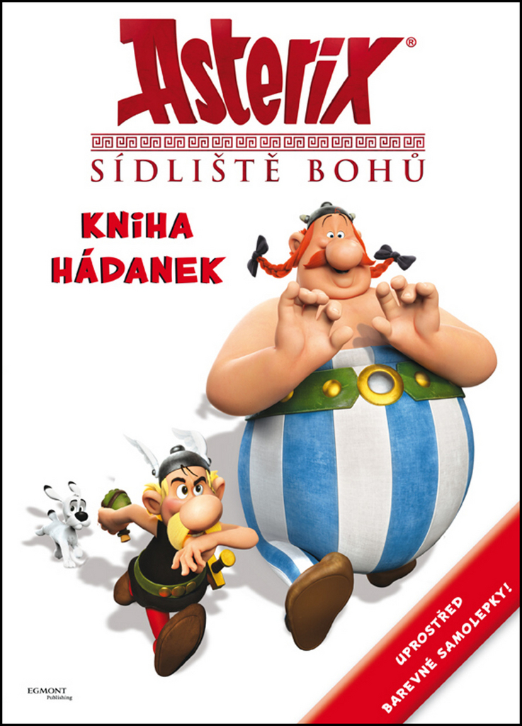 Asterix Sídliště bohů Kniha hádanek