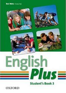 Obrázok English Plus 3 Student´s Book