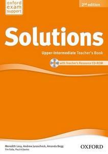 Obrázok Maturita Solutions Upper-intermediate Teacher's Book with Teacher's resource CD