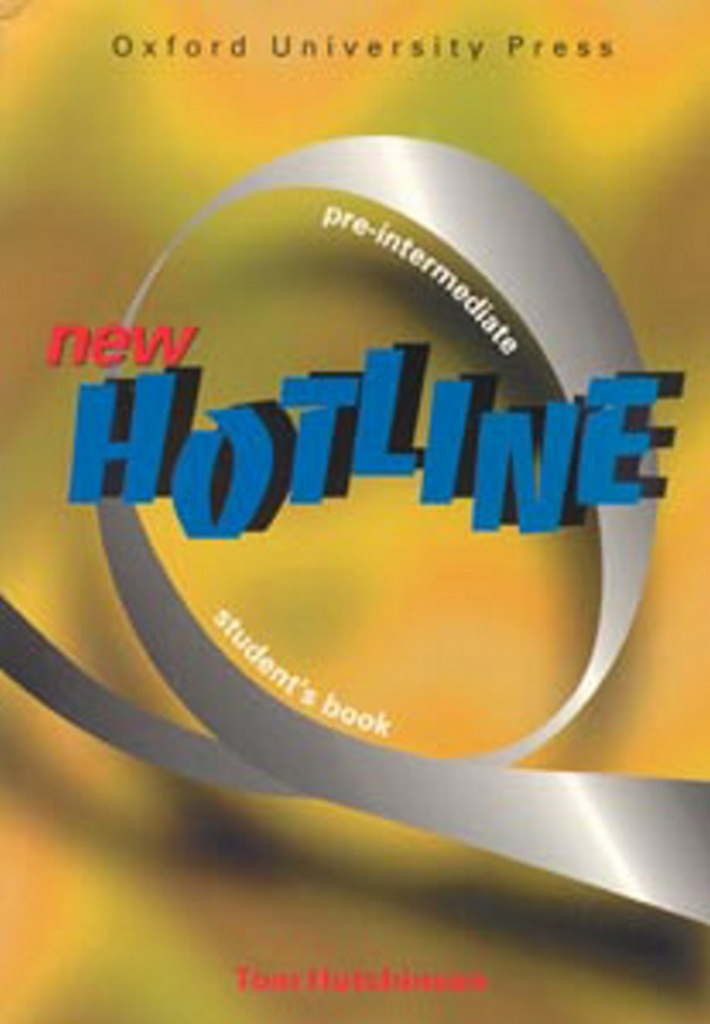 New hotline Pre-intermediate Student´s book - Tom Hutchinson