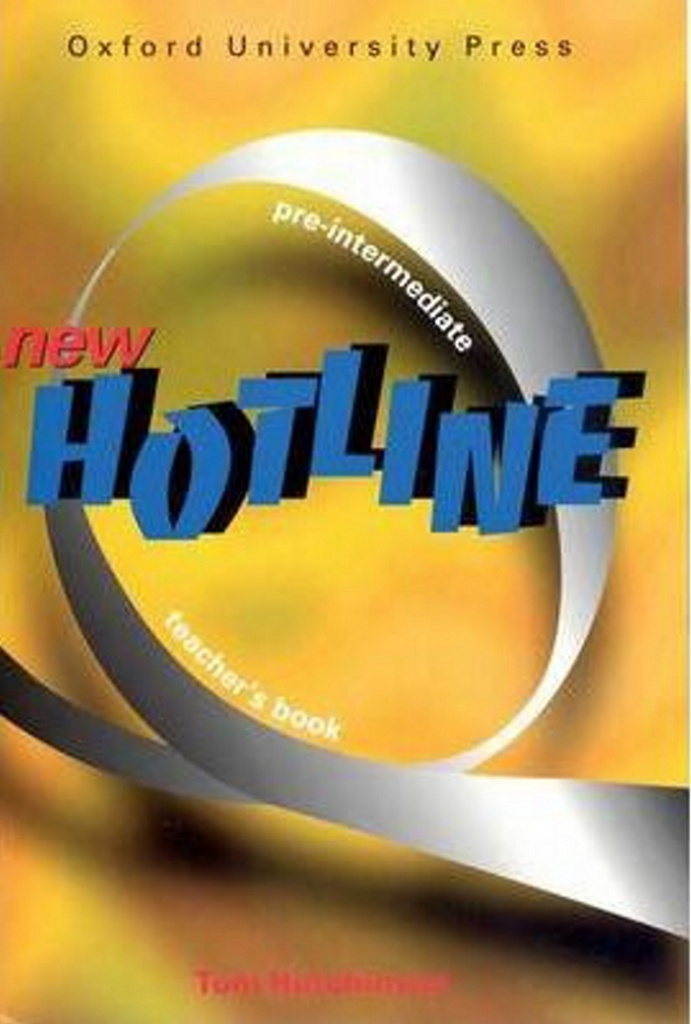 New hotline Pre-intermediate Teacher´s book - Tom Hutchinson