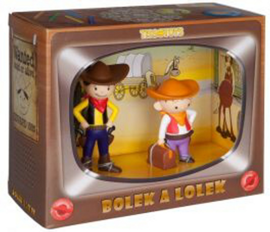 Bolek a Lolek kovbojové