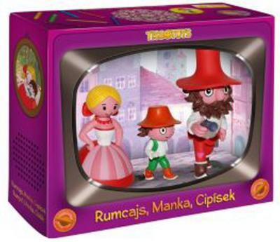 Obrázok Rumcajs, Manka a Cipísek