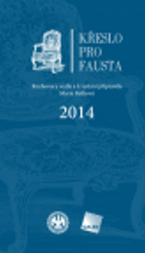 Křeslo pro Fausta 2014 - Marie Retková