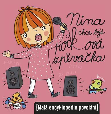 Obrázok Nina chce být rocková zpěvačka