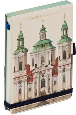 Obrázok Notes s gumičkou Prague 1