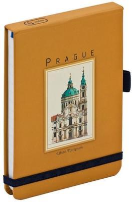 Obrázok Notes s gumičkou Prague 2