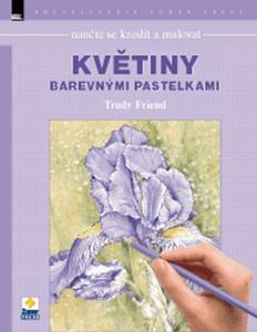 Obrázok Naučte se kreslit a malovat květiny barevnými pastelkami
