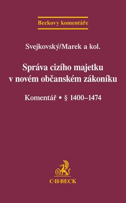 Obrázok Správa cizího majetku v novém OZ Komentář