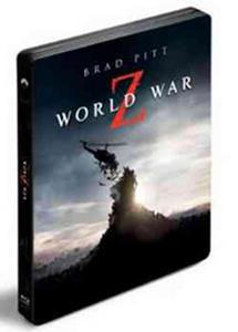 Obrázok Světová válka Z (2 Blu-ray 3D+2D) steelbook