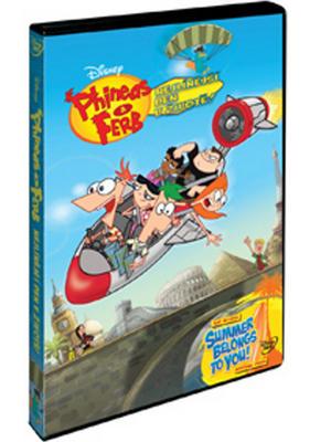 Obrázok Phineas a Ferb Nejlínější den v životě