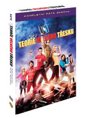 Obrázok Teorie velkého třesku 5.série 3 DVD