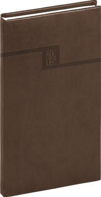 Obrázok Notes Tuscon A5 kapesní hnědá 2015