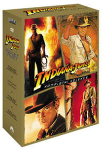 Obrázok Indiana Jones kolekce 4 DVD